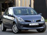Renault Clio 3-door ZA-spec 2006–09 wallpapers