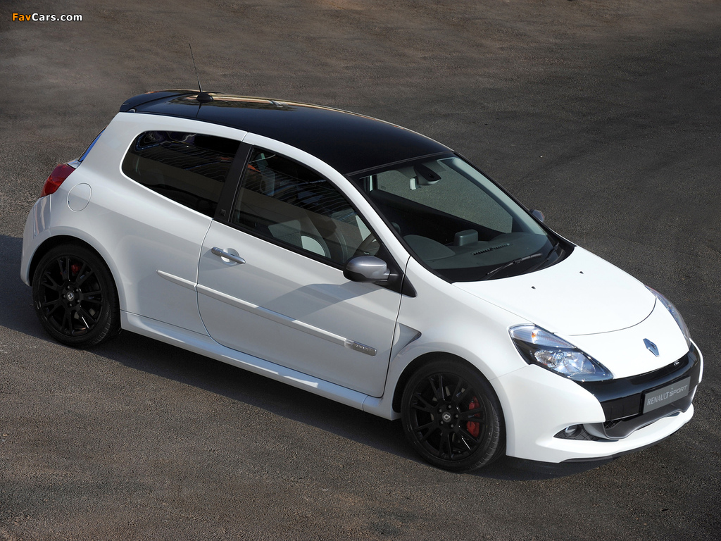 Renault Clio R.S. 20th Limited Edition ZA-spec 2010 wallpapers (1024 x 768)