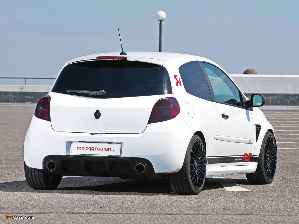 MR Car Design Renault Clio RS 2011 wallpapers (1024 x 768)