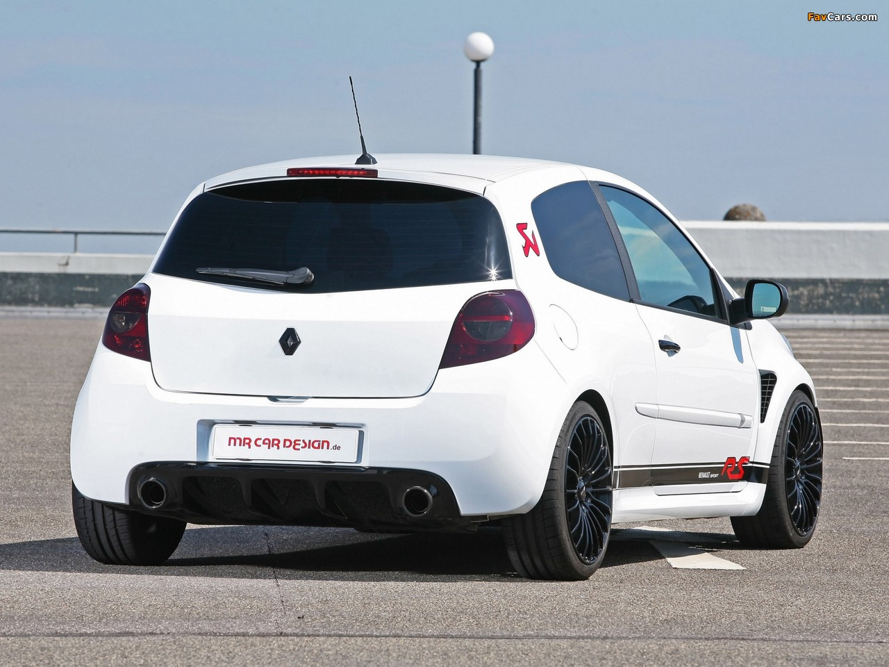 MR Car Design Renault Clio RS 2011 wallpapers (1280 x 960)