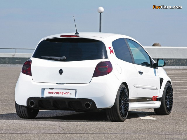 MR Car Design Renault Clio RS 2011 wallpapers (640 x 480)