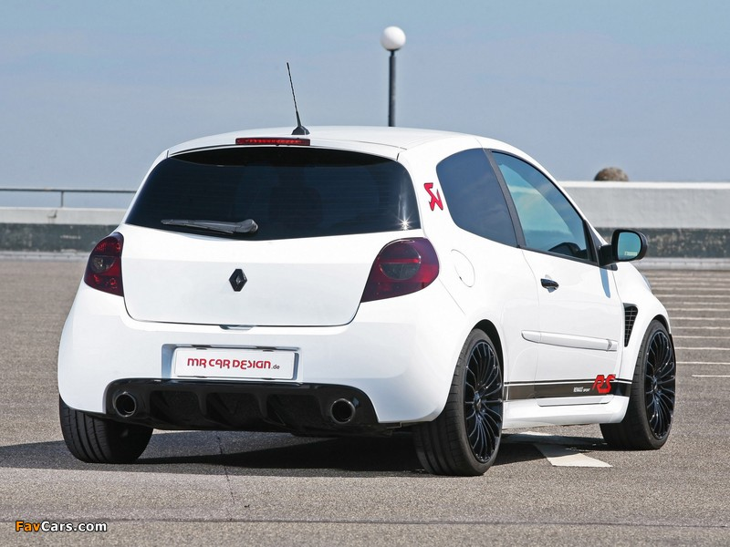 MR Car Design Renault Clio RS 2011 wallpapers (800 x 600)