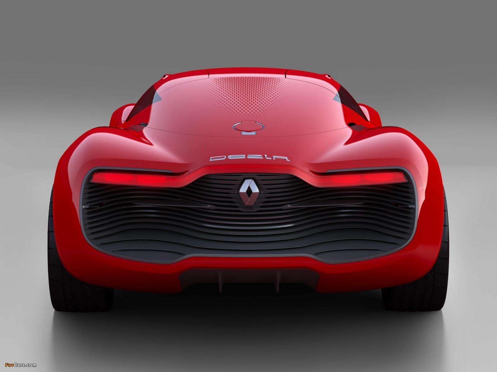 Images of Renault DeZir Concept 2010 (1600 x 1200)