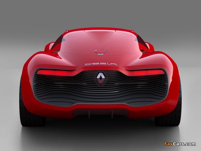 Images of Renault DeZir Concept 2010 (640 x 480)
