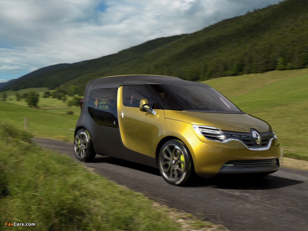 Images of Renault Frendzy Concept 2011 (1024 x 768)