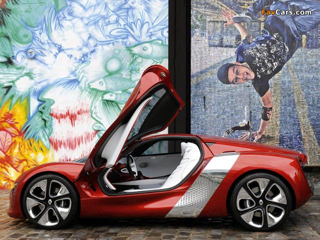Photos of Renault DeZir Concept 2010 (640 x 480)