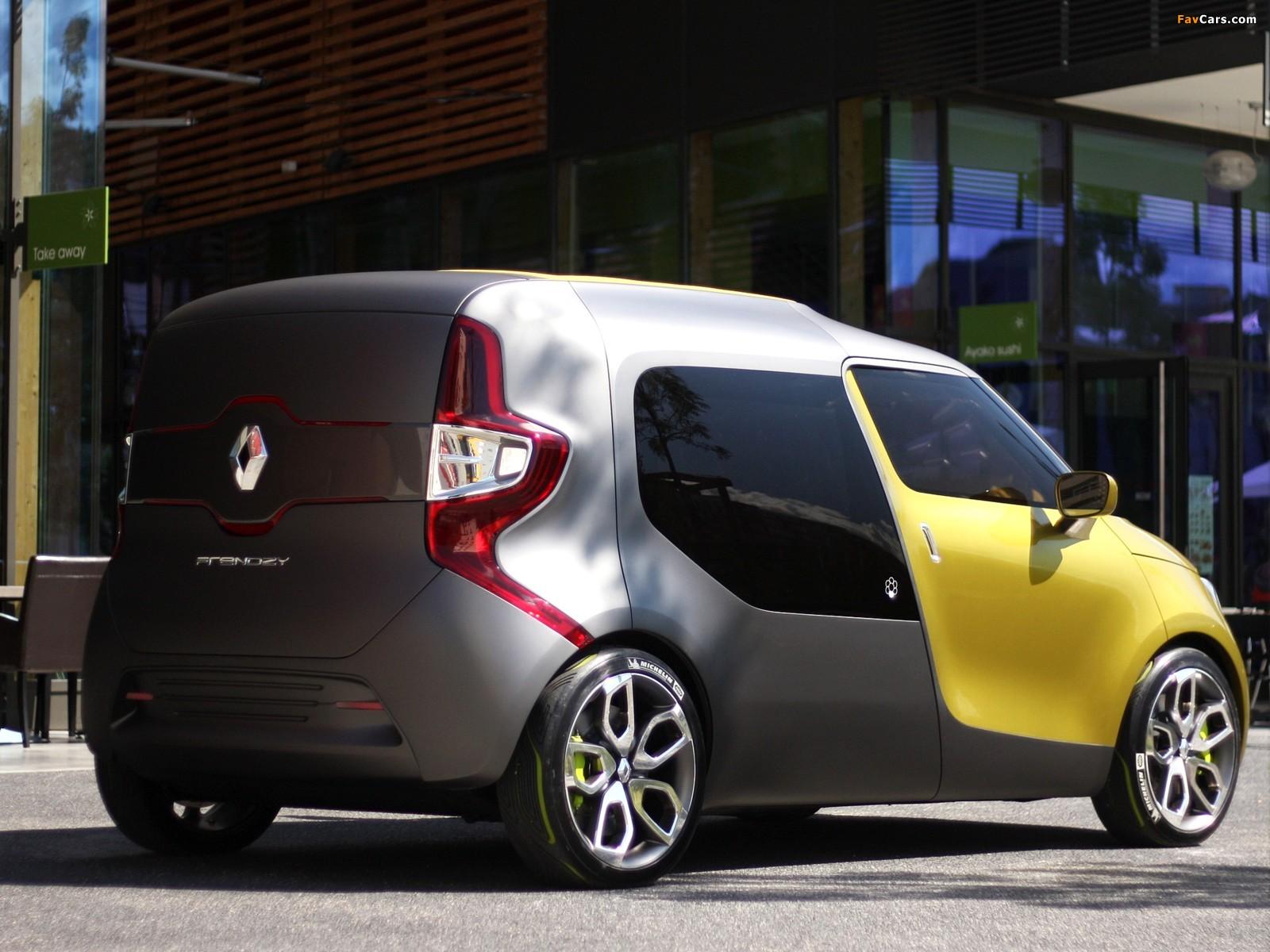 Photos of Renault Frendzy Concept 2011 (1600 x 1200)