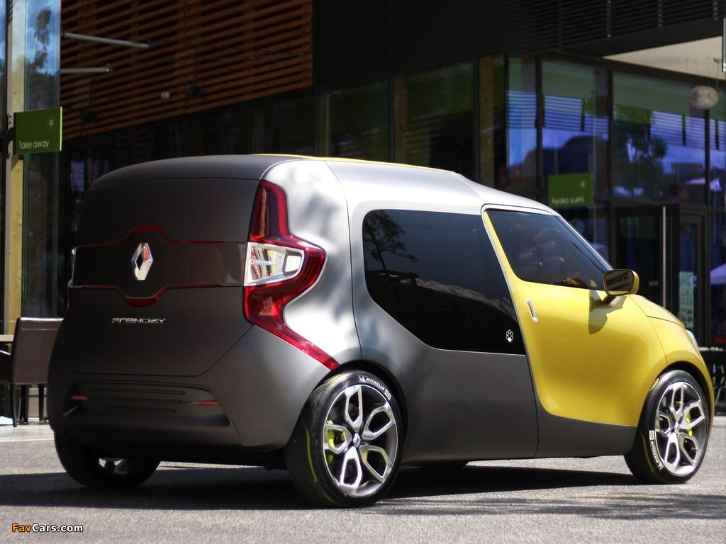 Photos of Renault Frendzy Concept 2011 (1024 x 768)