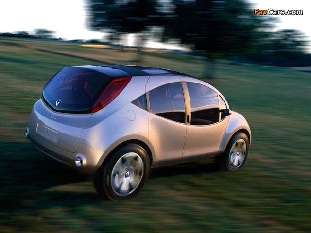Pictures of Renault Be Bop SUV Concept 2003 (640 x 480)