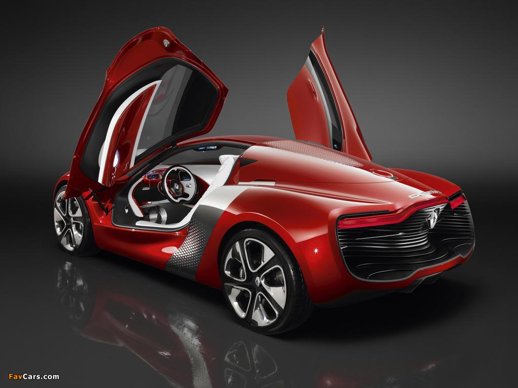 Pictures of Renault DeZir Concept 2010 (1024 x 768)