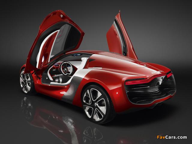 Pictures of Renault DeZir Concept 2010 (640 x 480)