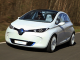 Pictures of Renault Zoe Preview Concept 2010