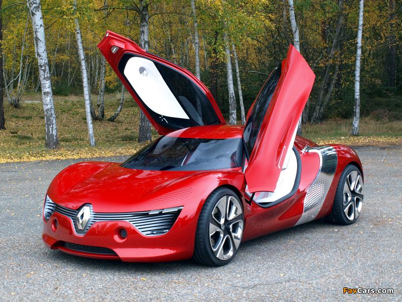 Pictures of Renault DeZir Concept 2010 (800 x 600)