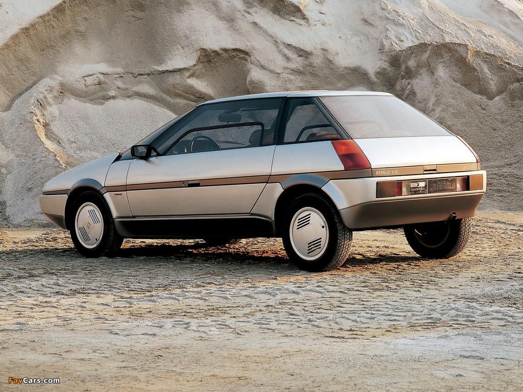 Renault Gabbiano Concept 1983 photos (1024 x 768)