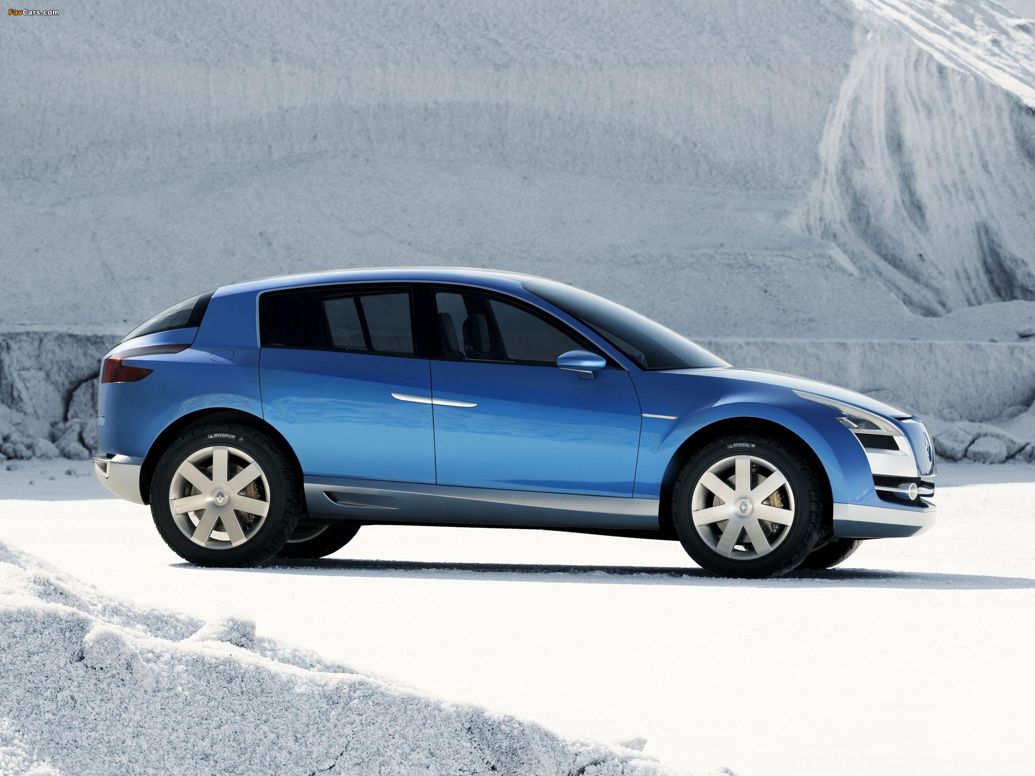 Renault Egeus Concept 2005 photos (2048 x 1536)