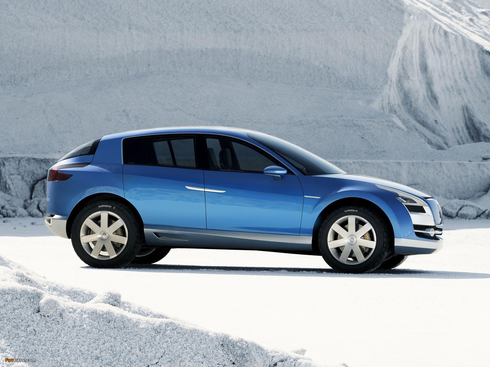 Renault Egeus Concept 2005 photos (1600 x 1200)