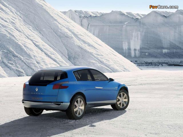 Renault Egeus Concept 2005 photos (640 x 480)