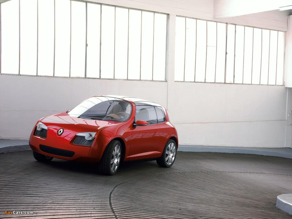 Renault Zoe Concept 2005 pictures (1024 x 768)