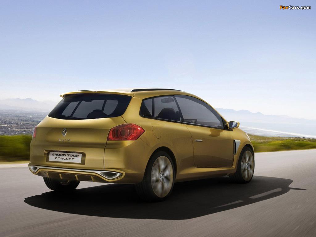 Renault Clio Grandtour Concept 2007 images (1024 x 768)