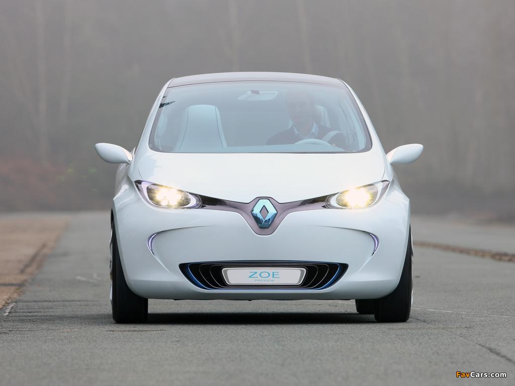 Renault Zoe Preview Concept 2010 photos (1024 x 768)