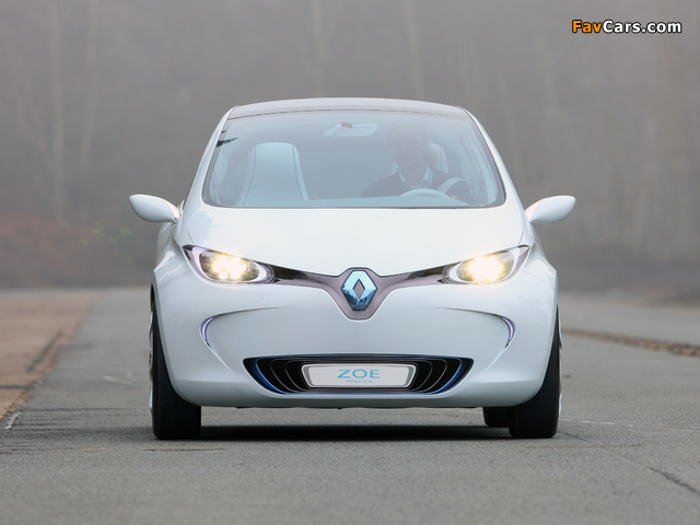 Renault Zoe Preview Concept 2010 photos (640 x 480)