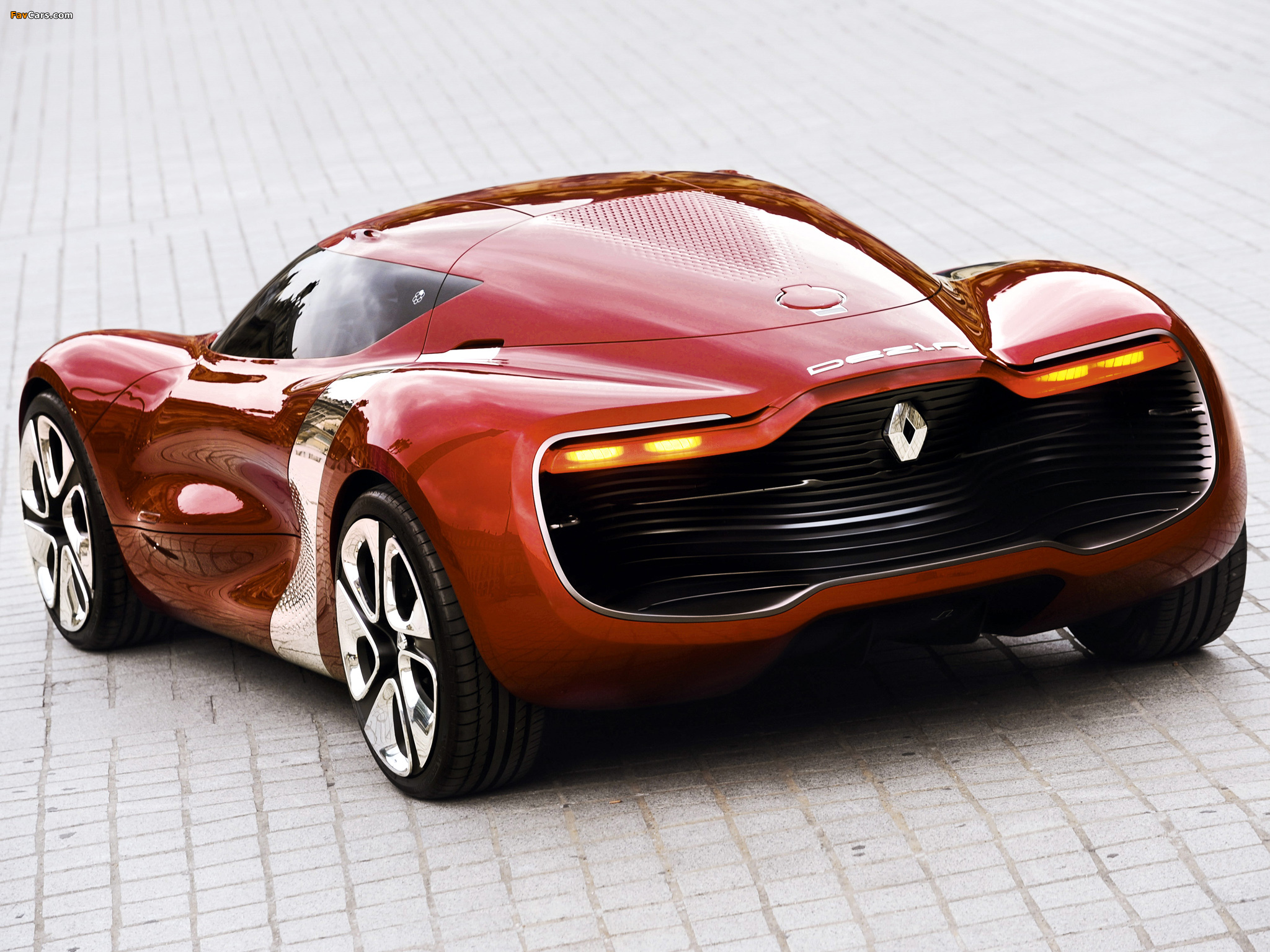 Renault DeZir Concept 2010 pictures (2048 x 1536)