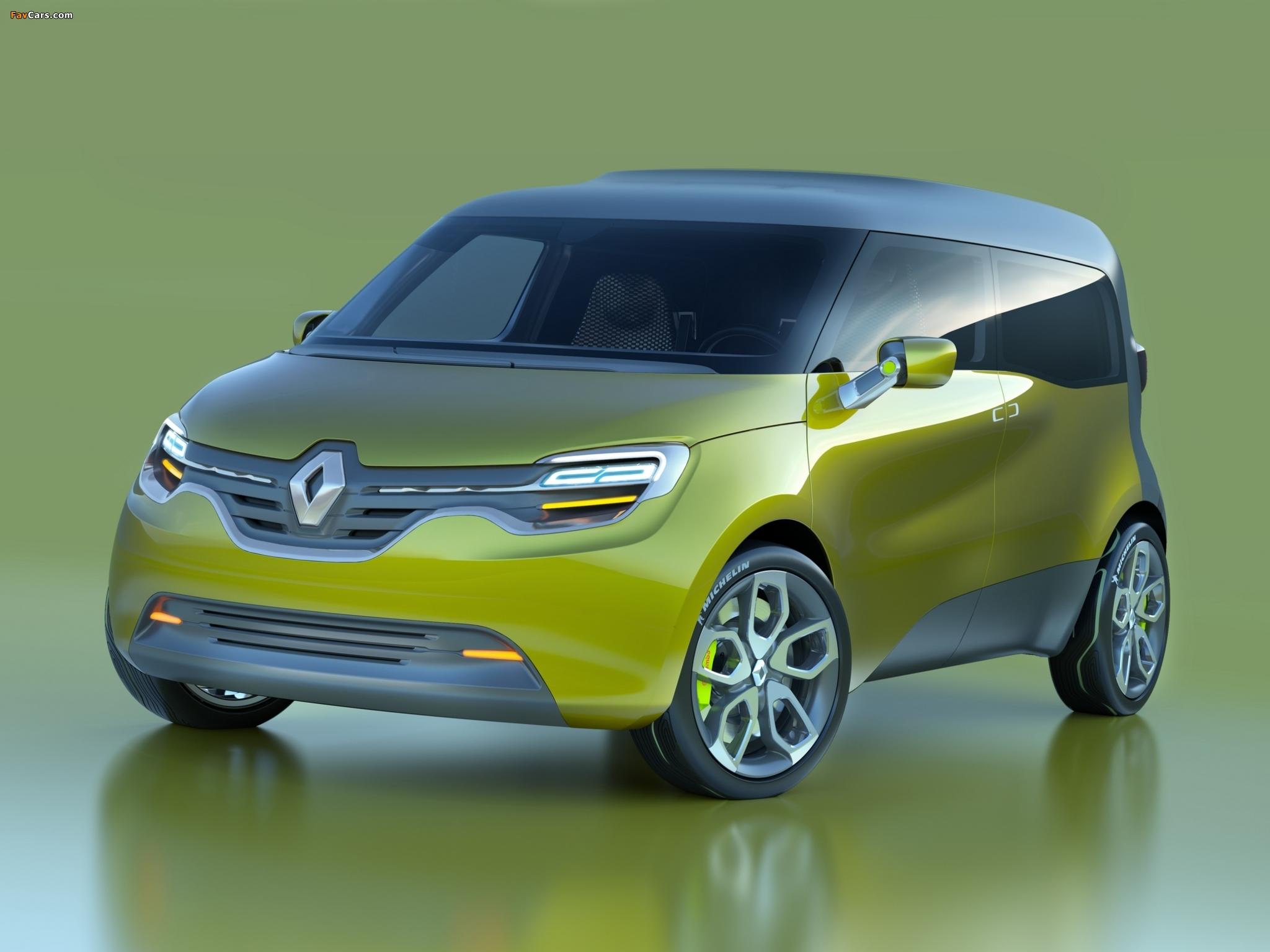 Renault Frendzy Concept 2011 images (2048 x 1536)