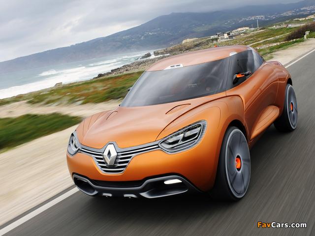 Renault Captur Concept 2011 photos (640 x 480)