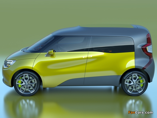 Renault Frendzy Concept 2011 wallpapers (640 x 480)