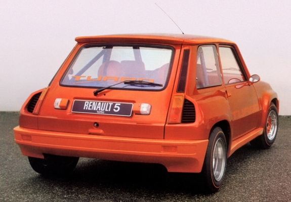 Renault 5 Turbo Prototype 1978 Wallpapers