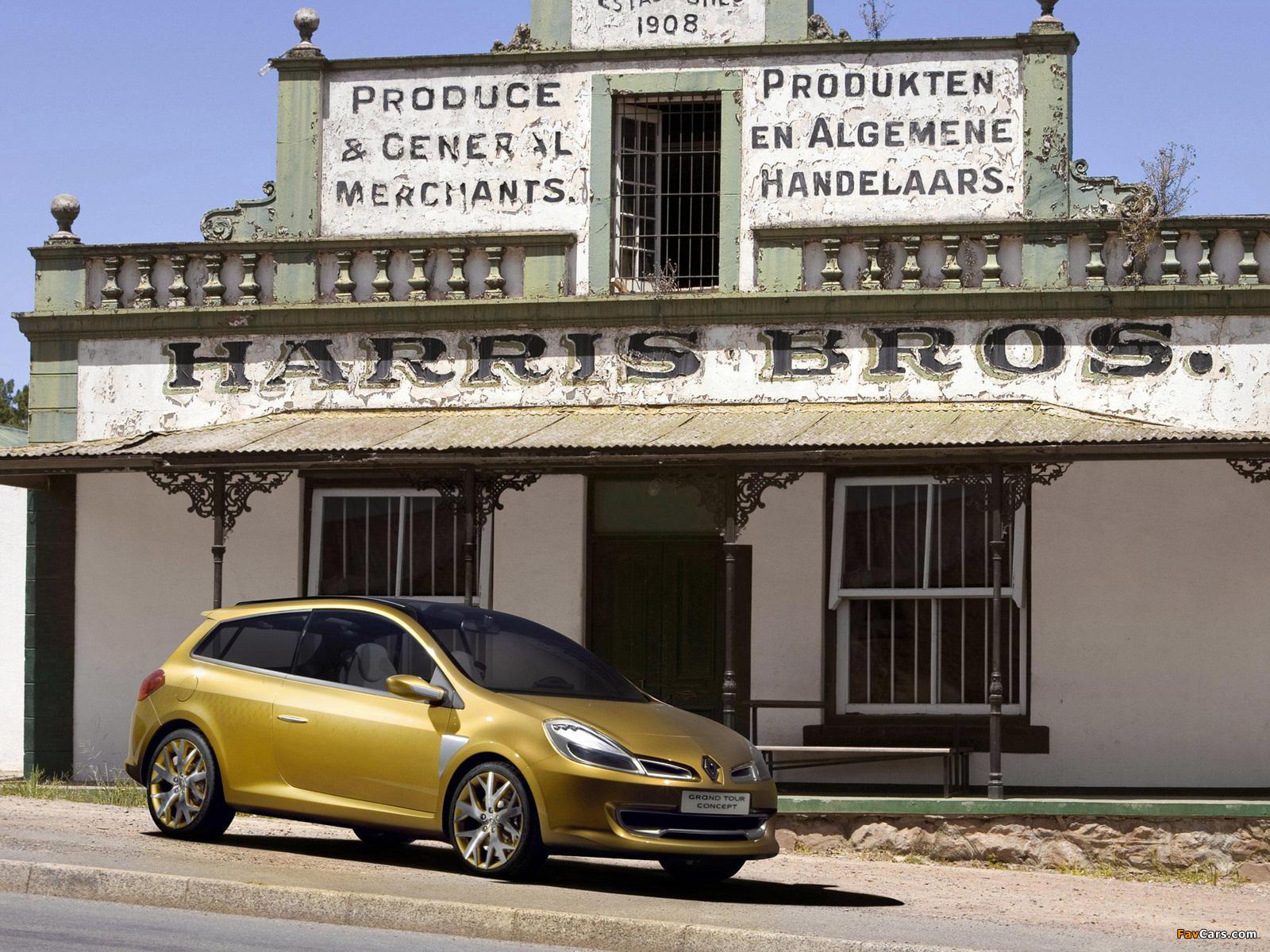 Renault Clio Grandtour Concept 2007 wallpapers (1600 x 1200)