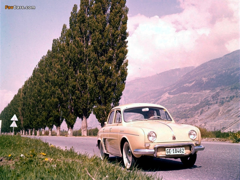 Images of Renault Dauphine 1956–67 (800 x 600)