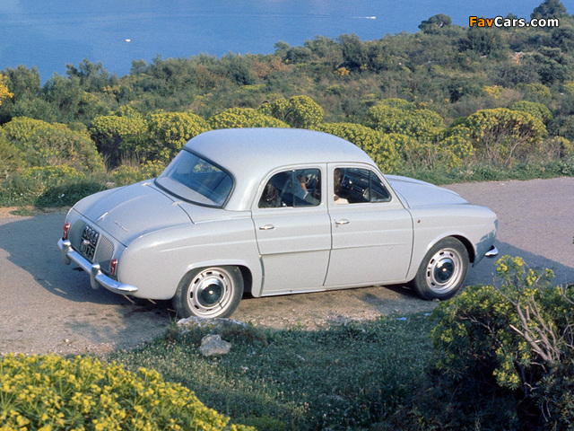 Images of Renault Dauphine 1956–67 (640 x 480)