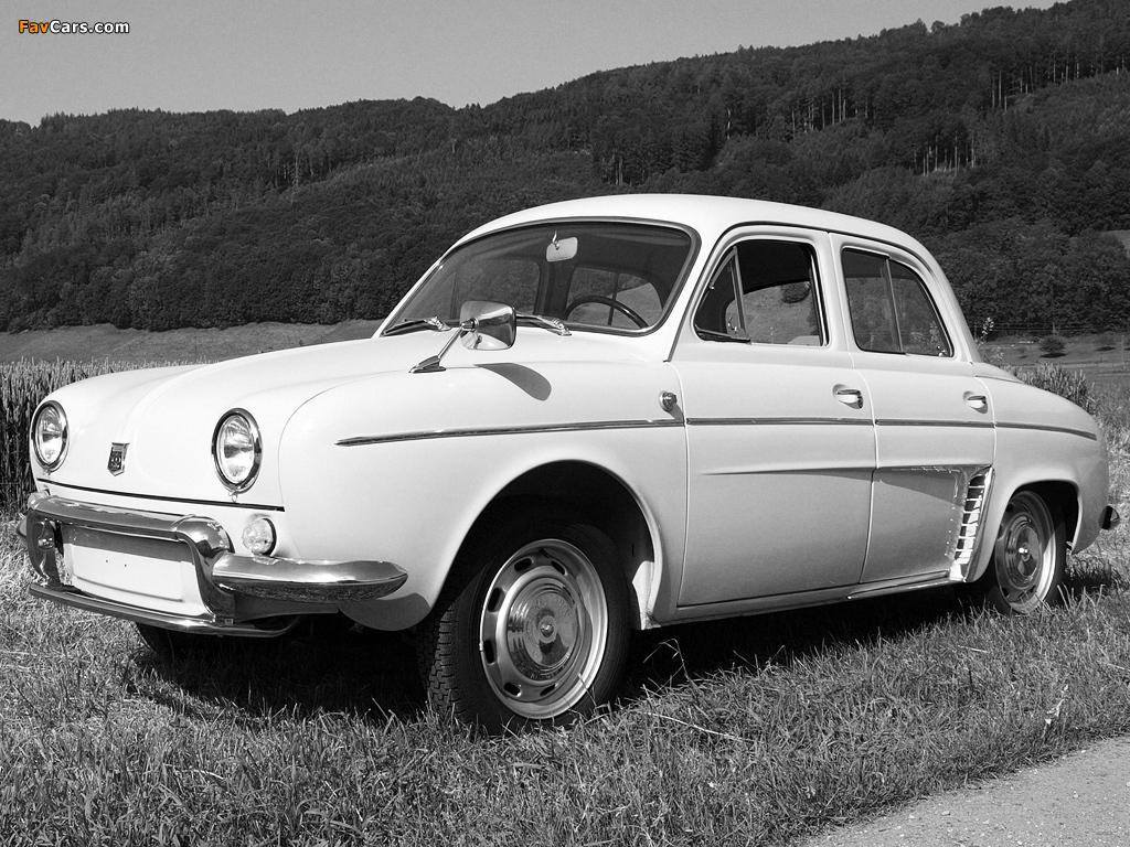 Photos of Renault Dauphine 1956–67 (1024 x 768)