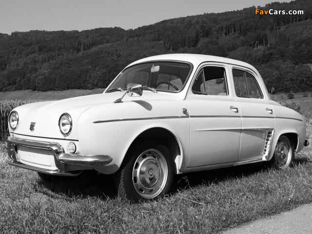 Photos of Renault Dauphine 1956–67 (640 x 480)