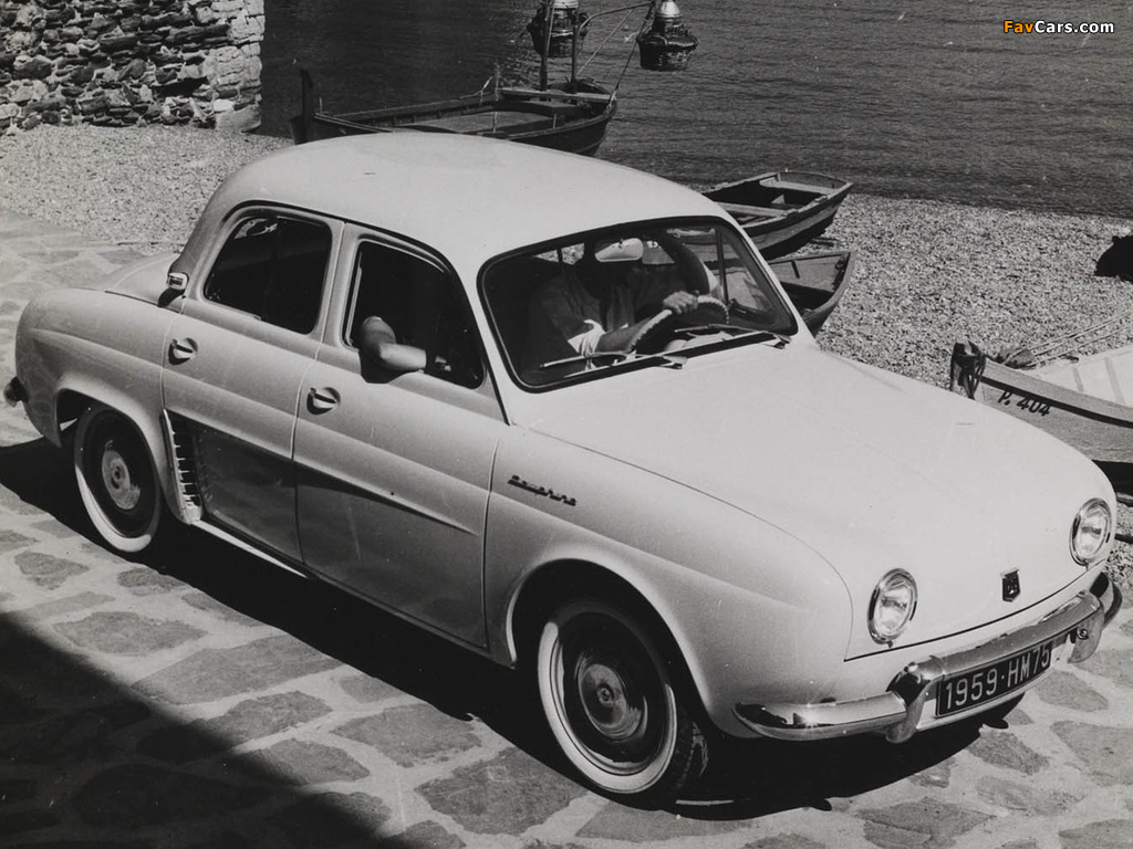 Pictures of Renault Dauphine 1956–67 (1024 x 768)