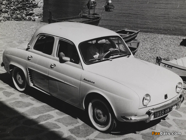 Pictures of Renault Dauphine 1956–67 (640 x 480)