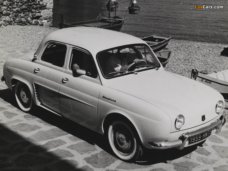 Pictures of Renault Dauphine 1956–67 (800 x 600)