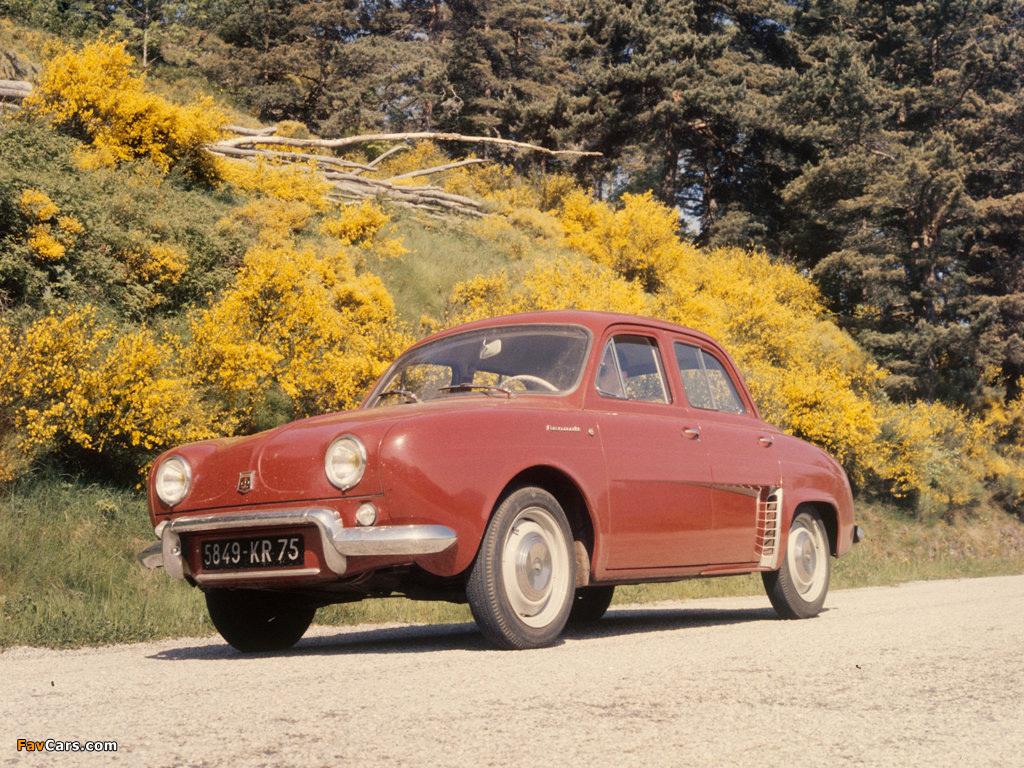 Renault Dauphine 1956–67 photos (1024 x 768)