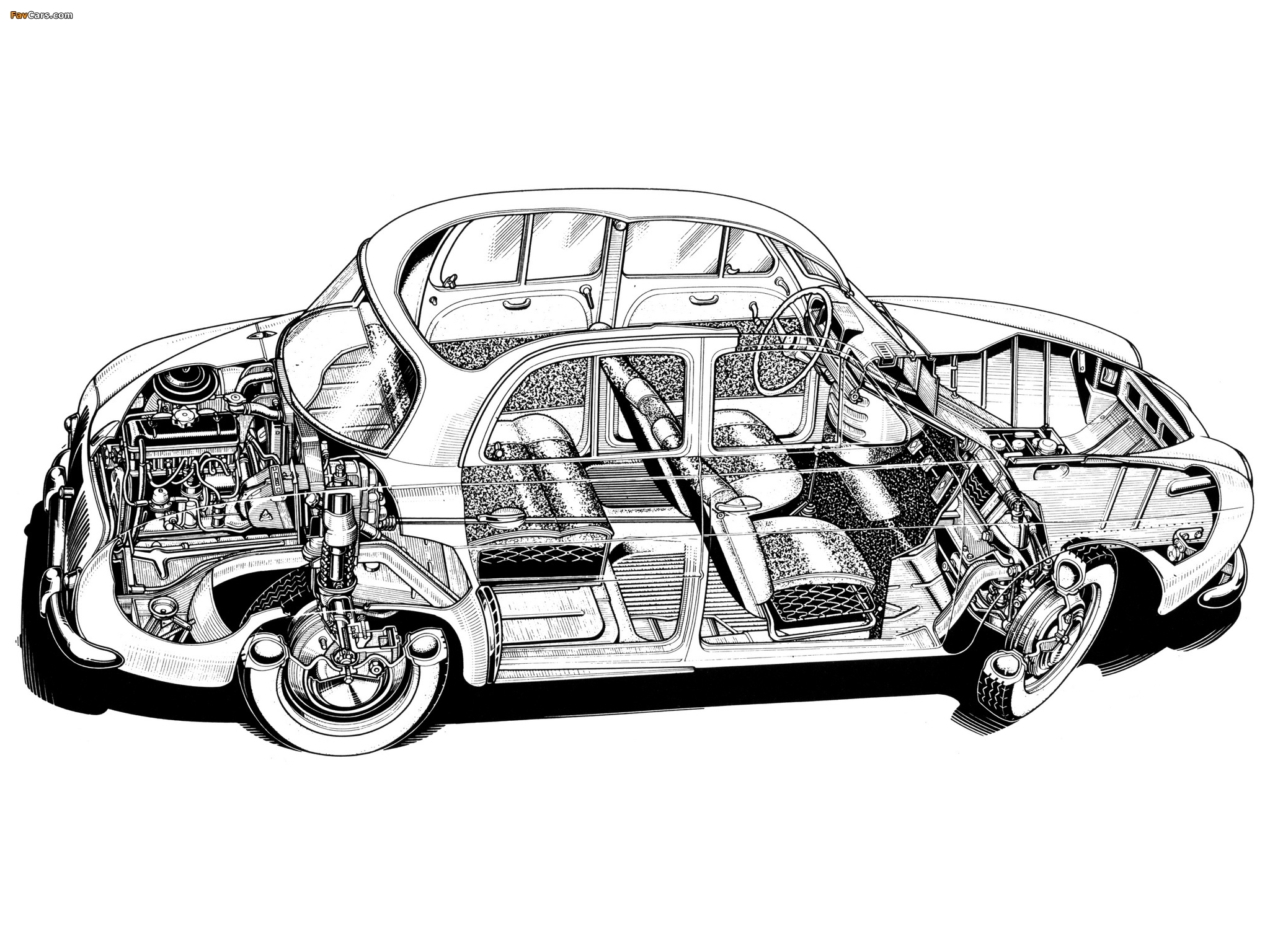 Renault Dauphine 1956–67 pictures (2048 x 1536)