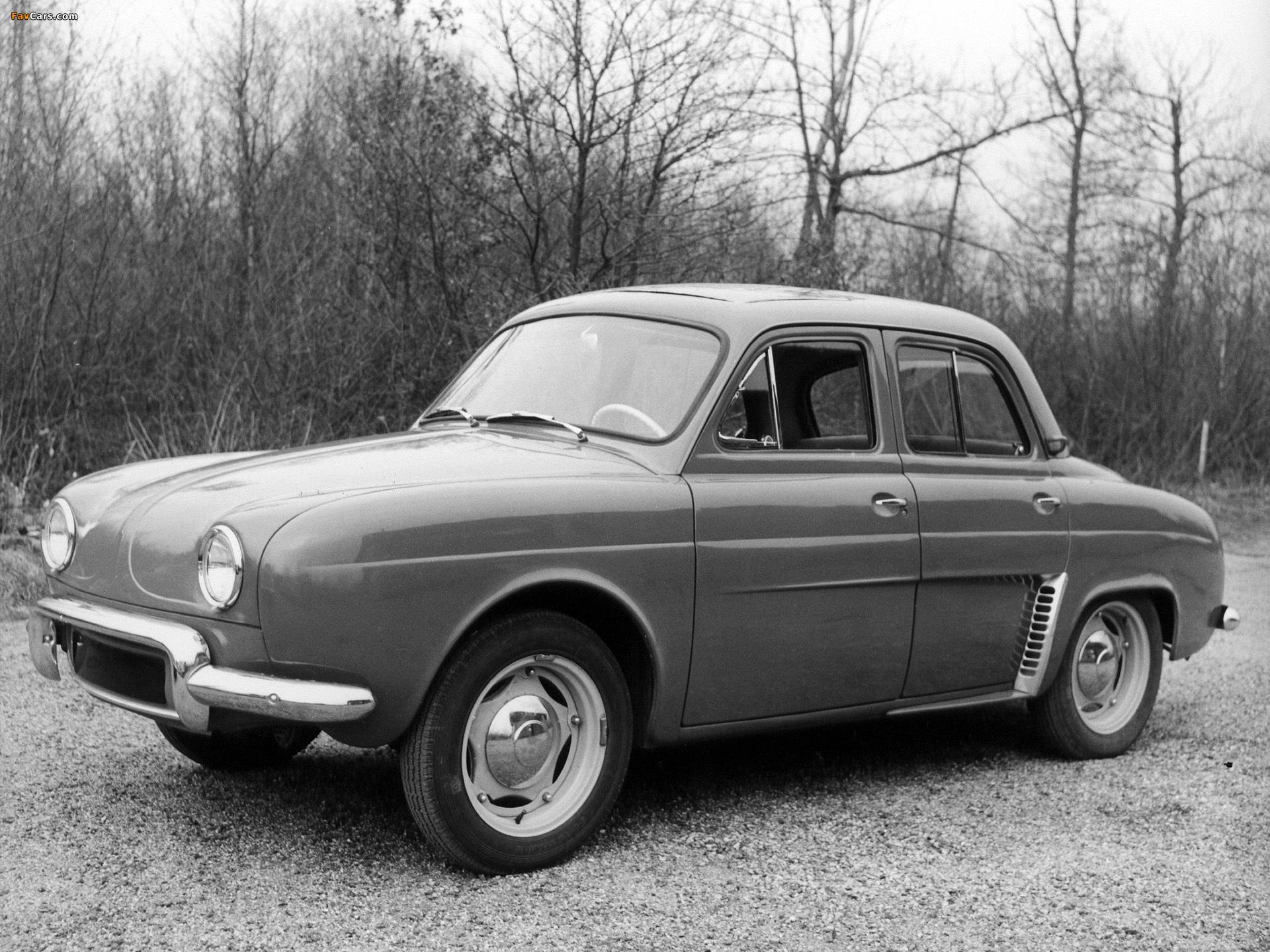 Renault Dauphine 1956–67 wallpapers (1920 x 1440)