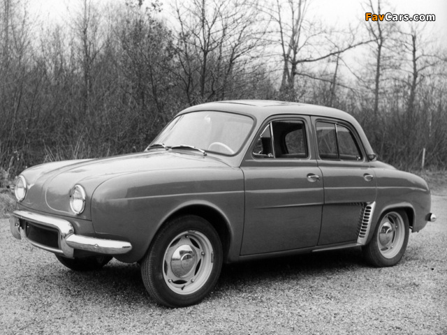 Renault Dauphine 1956–67 wallpapers (640 x 480)