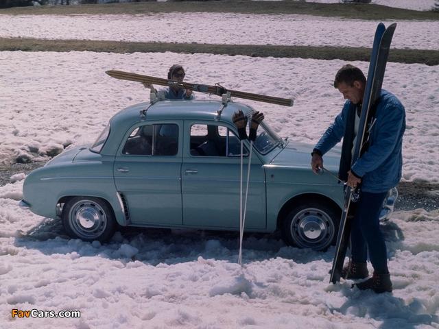 Renault Dauphine 1956–67 wallpapers (640 x 480)