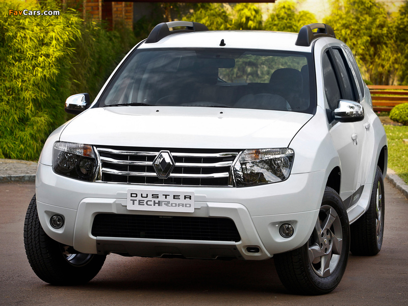 Renault Duster Tech Road 2012 wallpapers (800 x 600)