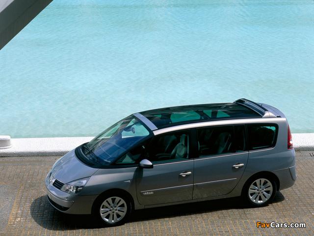 Images of Renault Espace (J81) 2002–06 (640 x 480)