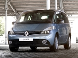 Photos of Renault Grand Espace (J81) 2012