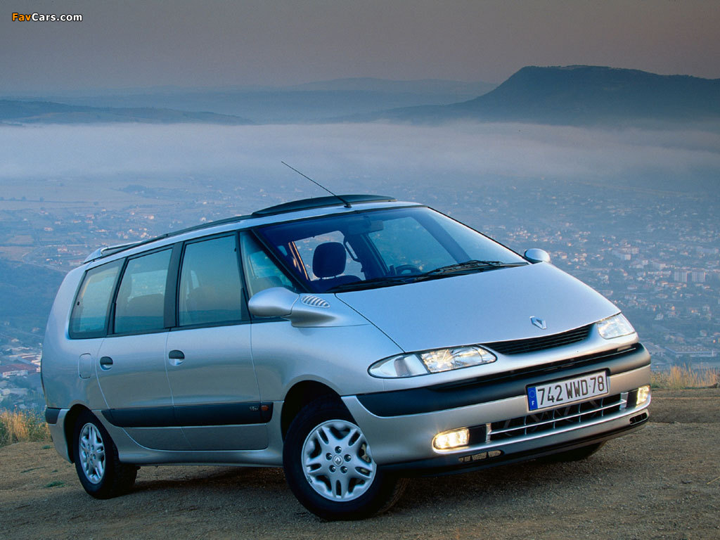 Pictures of Renault Espace (JE0) 1996–2002 (1024 x 768)