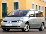 Pictures of Renault Espace ZA-spec (J81) 2002–06