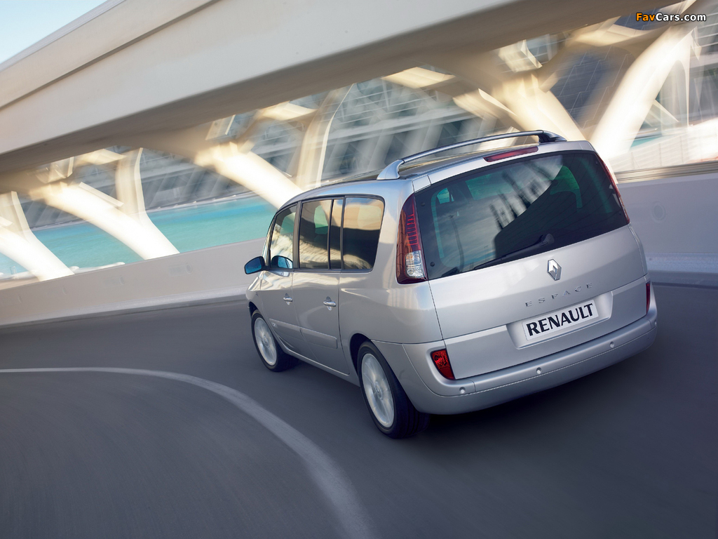 Pictures of Renault Espace (J81) 2006 (1024 x 768)