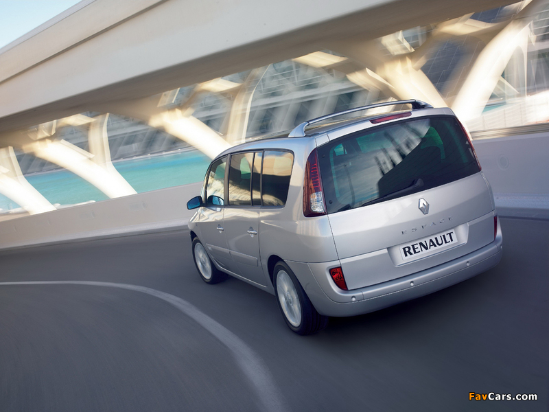 Pictures of Renault Espace (J81) 2006 (800 x 600)